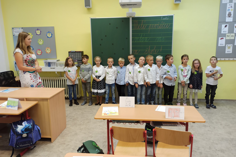 Prvákův 1. školní den